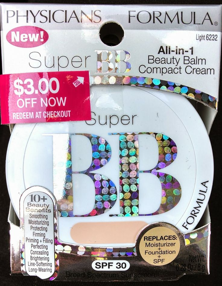Too Faced Air Buffed Compact BB Creme dupe- Physicians Formula BB Compact Cream.