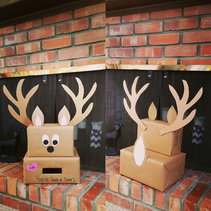 This Deer Valentines Day box fits our son's interests perfectly!