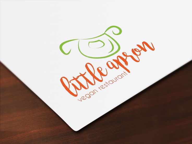 Little Apron the vegan restaurant!  #logo #logodesign #creativelogodesign #restaurantlogo #apronlogo #apron #restaurant #veganrestaurantlogo