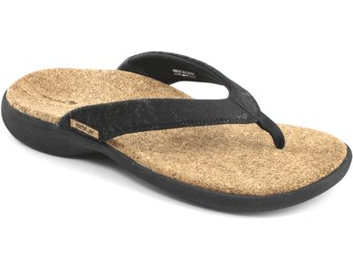 Sole Cork Flips - This has been my favorite casual flip for the last 3 summers. I rotate between the Sports Flip and the Cork Flips. Sole is a very popular brand with the staff here at HealthyFeetStore.com. If you are looking for an arch support flip flop, look no further.