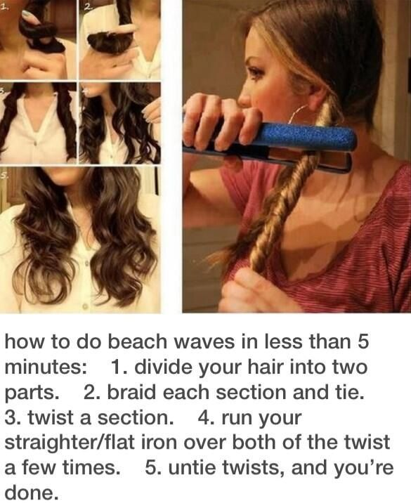 Attempting to try this beach waves right now.. hopefully it works out !