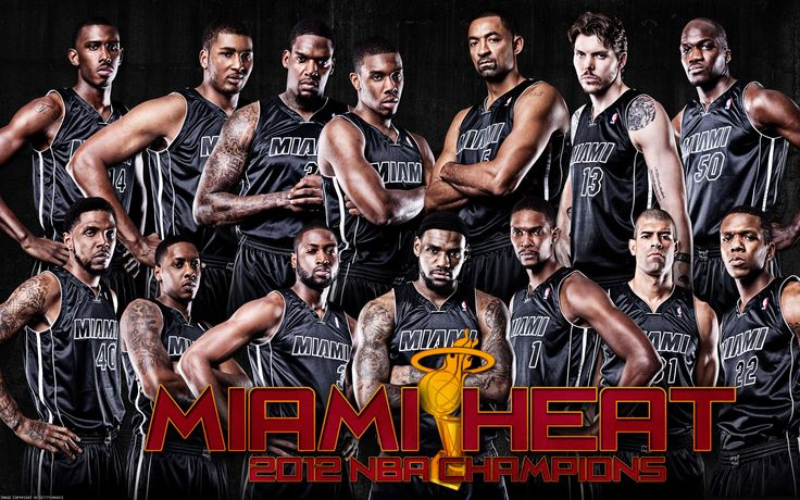 Miami | Miami Heat Team 2013 | Wallpup.com