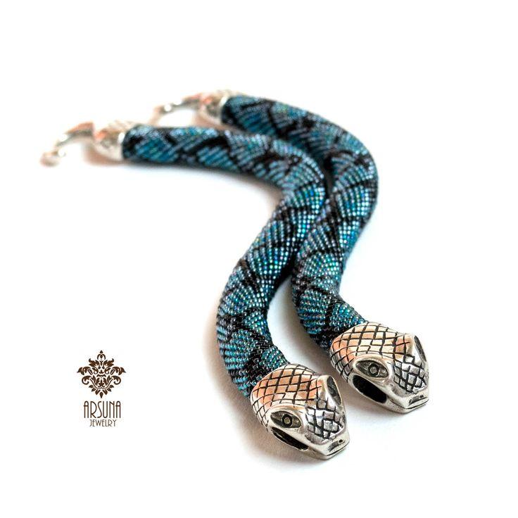 Змеиное гнездо, браслеты | biser.info - всё о бисере и бисерном творчестве