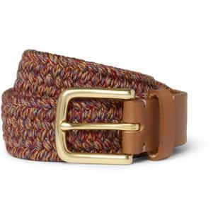 Ceinture Folk Mélange de texture intéressant pour cette ceinture de la marque londonienne Folk.