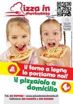 Volantino Pizza in Movimento