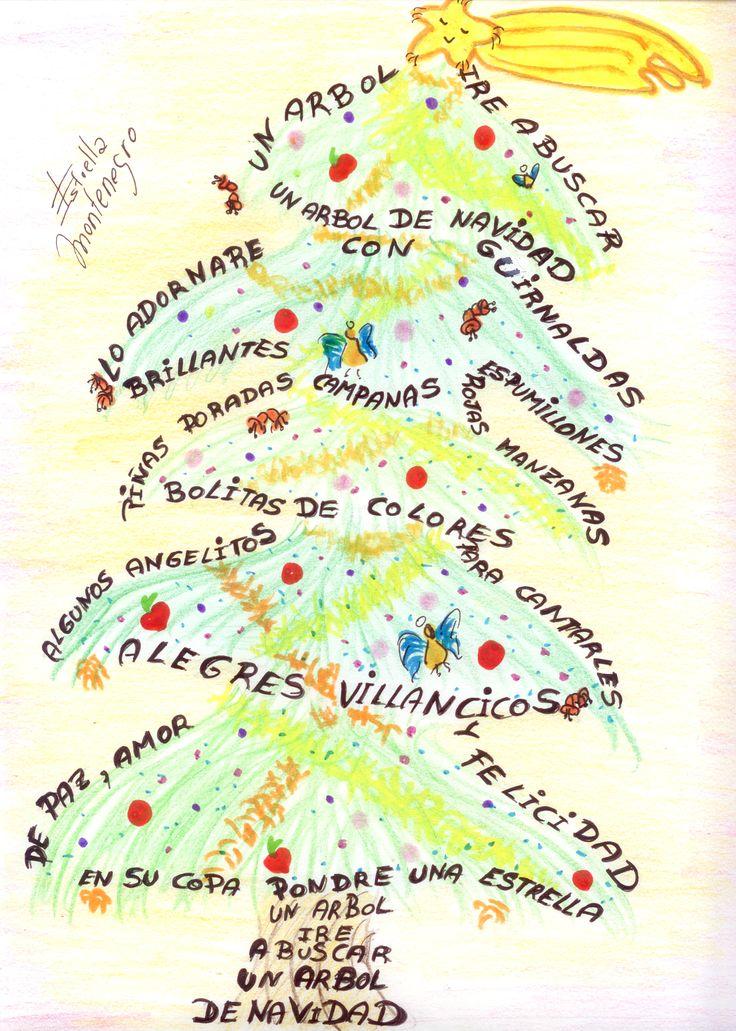Mejores 143 im genes de cuentos y poemas infantiles en - Cuento del arbol de navidad ...
