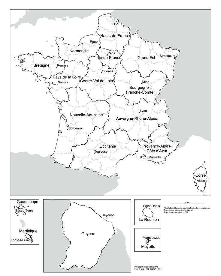 Les nouvelles régions françaises ont des noms — Géoconfluences