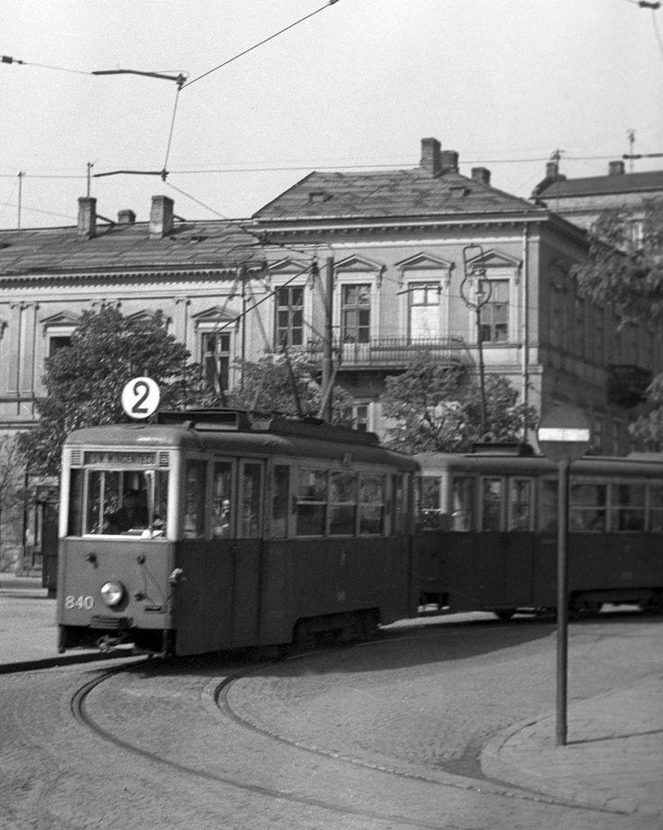 pl. Trzech Krzyży, 1958