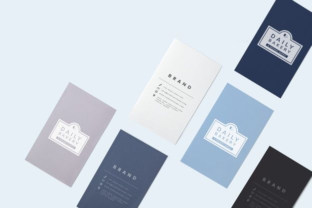 Free Psd Business Card Mockup Download