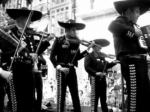 """¡Mariachi! Our amazing musical tradition. Every little town has a mariachi you can get for your parties or to bring """"serenata"""" to your loved one."""
