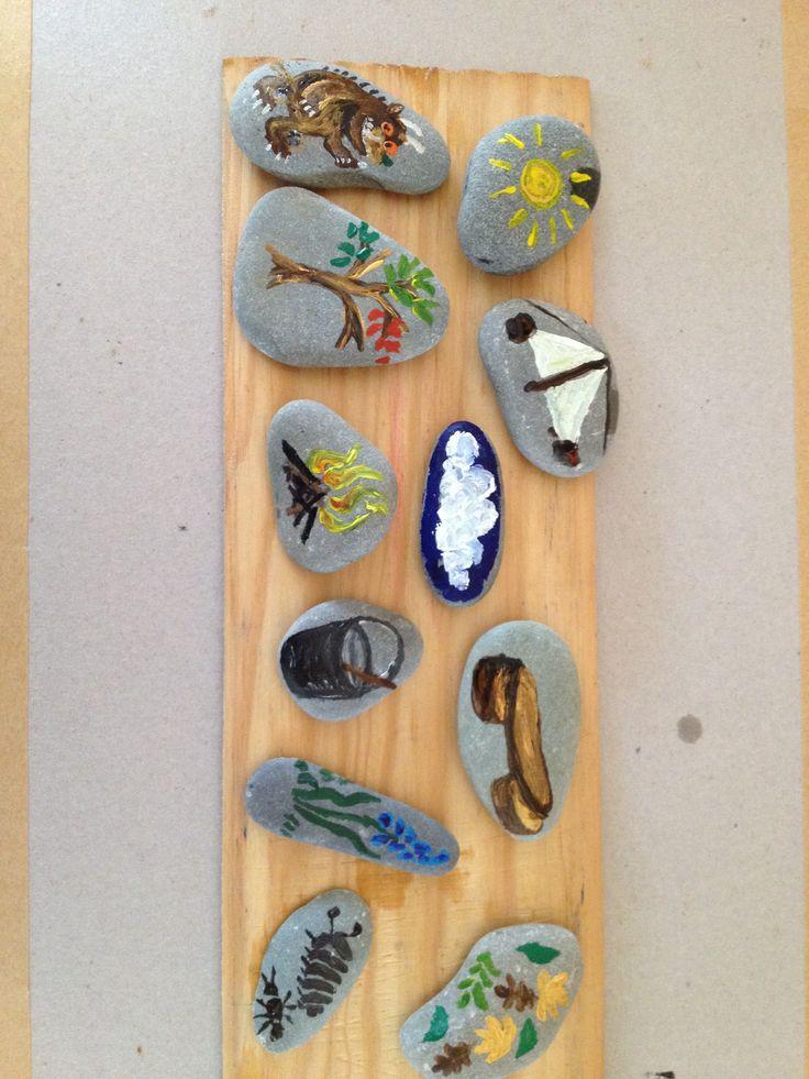 My Forest school stones