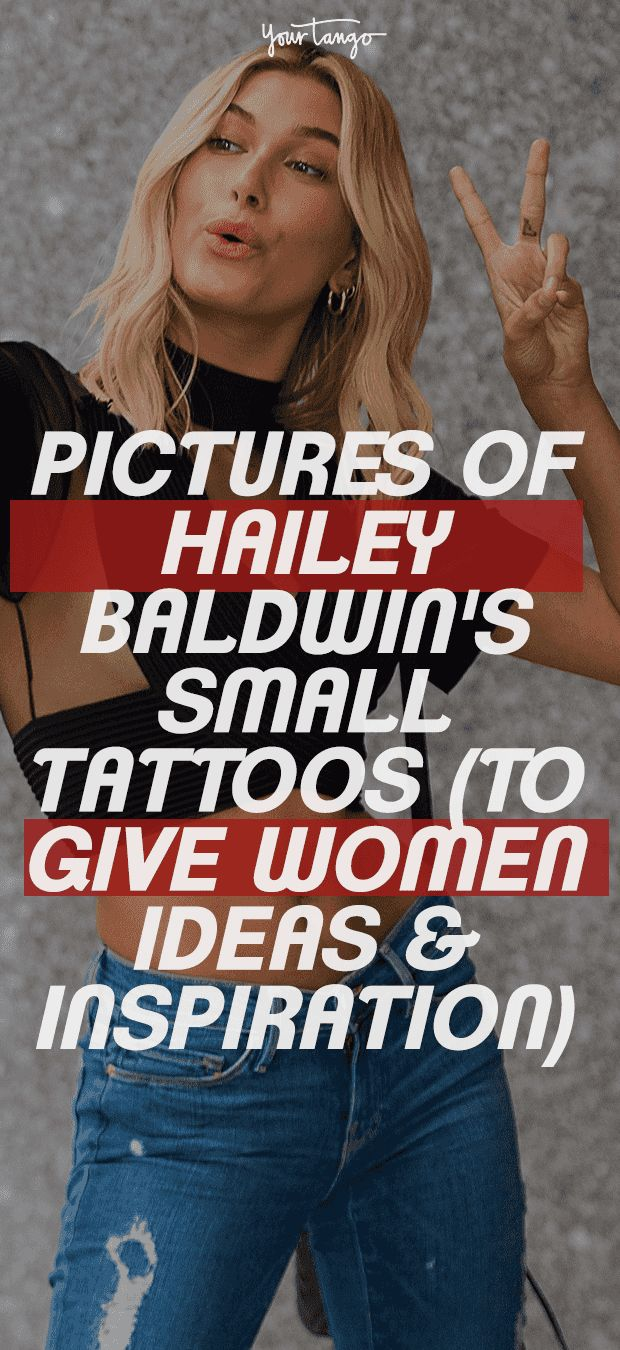 Pictures Of Every Tattoo On Hailey Baldwin Bieber's Body