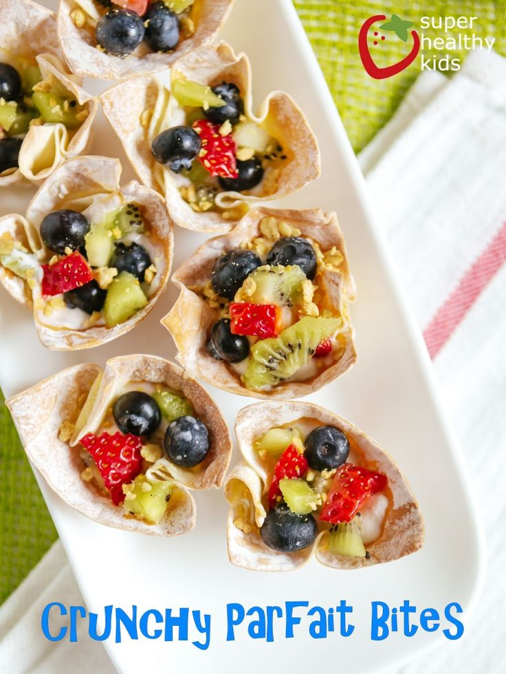 Crunchy Parfait Bites | Perfect for after-school snacking