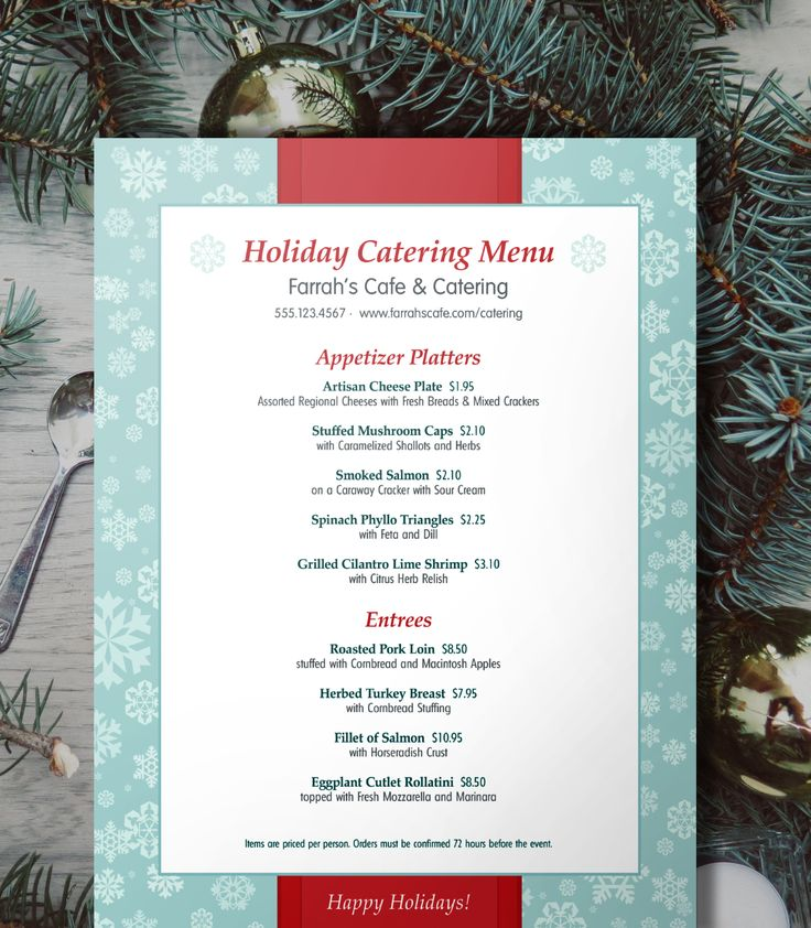 13 best Christmas images on Pinterest Christmas dinner menu - christmas menu word template