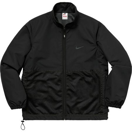 Supreme x Nike — Trail Running Jacket (Black)