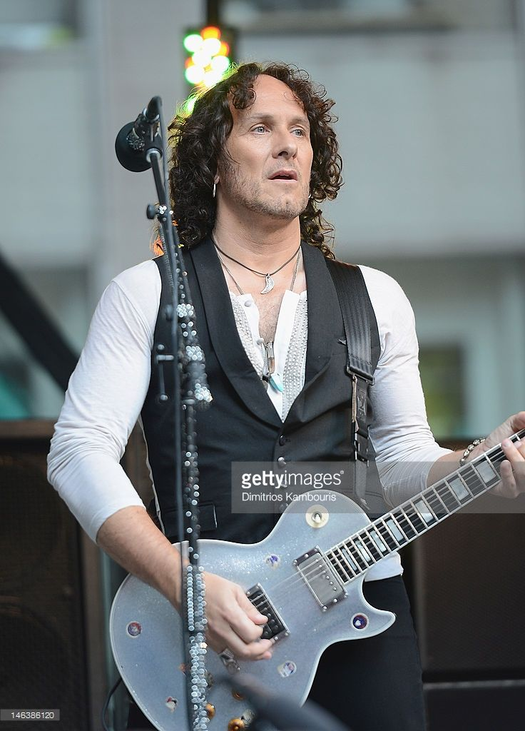 Vivian Campbell of Def Leppard performs during 'FOX & Friends' All American Concert Series at FOX Studios on June 15, 2012 in New York City.