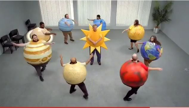 The opposite of what our planet costumes will look like. (Although these are hilariously awesome!)