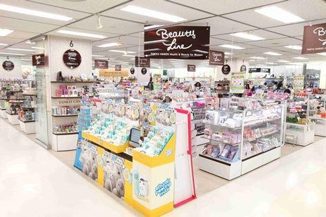 Electronics retail megastores / Miscellaneous goods stores / Discount stores / 100 yen shops