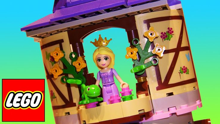 LEGO Toys for Kids | Disney Princess Rapunzel's Creativity Tower Stop Motion build video: https://youtu.be/JRSee2wK4gI