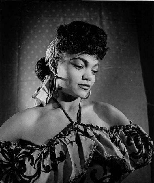 Eartha Kitt - Vintage Black Glamour