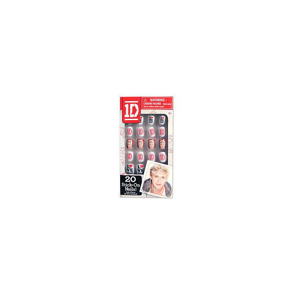 1D 2D Nails Niall The Wish Factory (€6,80) ❤ liked on Polyvore featuring nails, one direction, makeup and one direction things