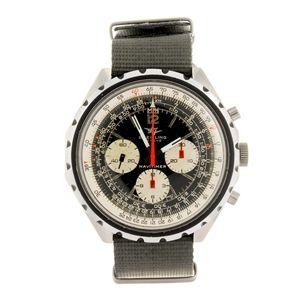 BREITLING - a gentleman's Navitimer chronograph wrist watch. Estimate GBP: £800 - £1,200