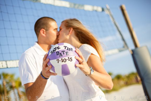 Volleyball Engagement Shoot. Save the Date. Wedding to be. Photography.