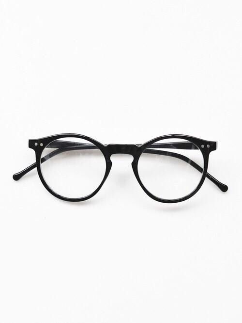 glasses, black, and fashion image