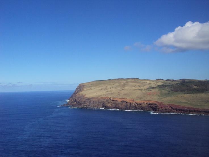 Arribo a Rapa Nui