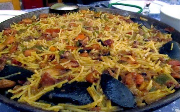 Receta de Fideua Marinera | Cocinar en casa es facilisimo.com