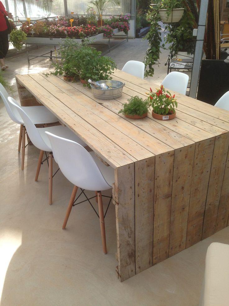 Muebles confeccionados por nosotros con madera reciclada for Diseno de muebles con madera reciclada