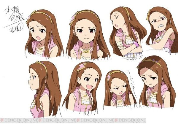 Female character expressions