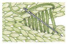 Seven Types Of Seaming; ribbing, garter, stockinette, back stitch, slip stitch…