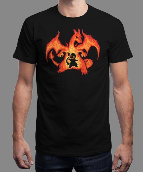 """""""Fire Dragon Within"""" is today's £9/€11/$12 tee for 24 hours only on www.Qwertee.com Pin this for a chance to win a FREE TEE this weekend. Follow us on pinterest.com/qwertee for a second! Thanks:)"""