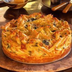 Mac & Cheese Pie w/ Potato Crust