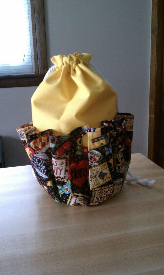Bingo bag that I made!