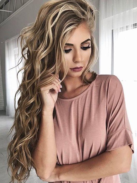 Perfect dirty blonde hair