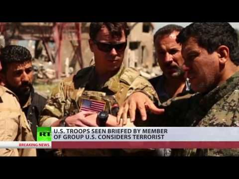 Türkischer Angriff auf Syrien: USA unterstützen Kurden - auch von der PKK - YouTube