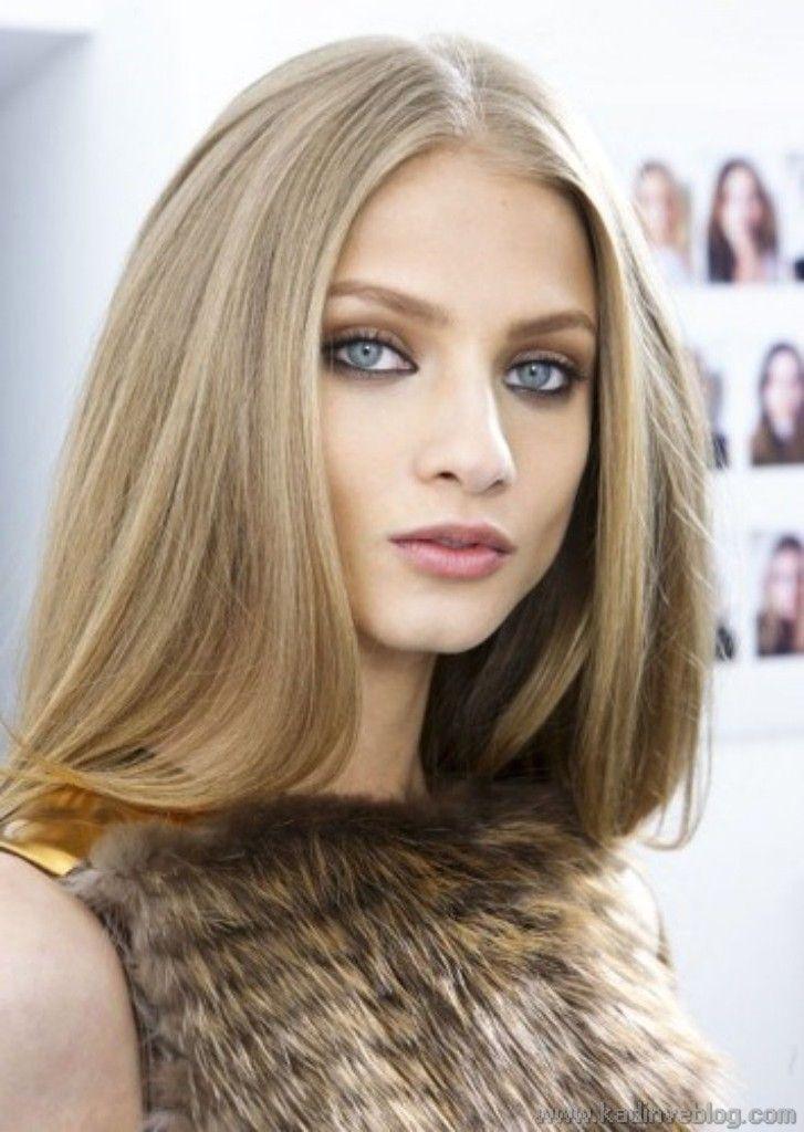 #2016 #Hairstyle #Fashion #Women #Mode #Model #Girl #Beauty #Beautiful   Ash Gelb Haarfarbe Shades