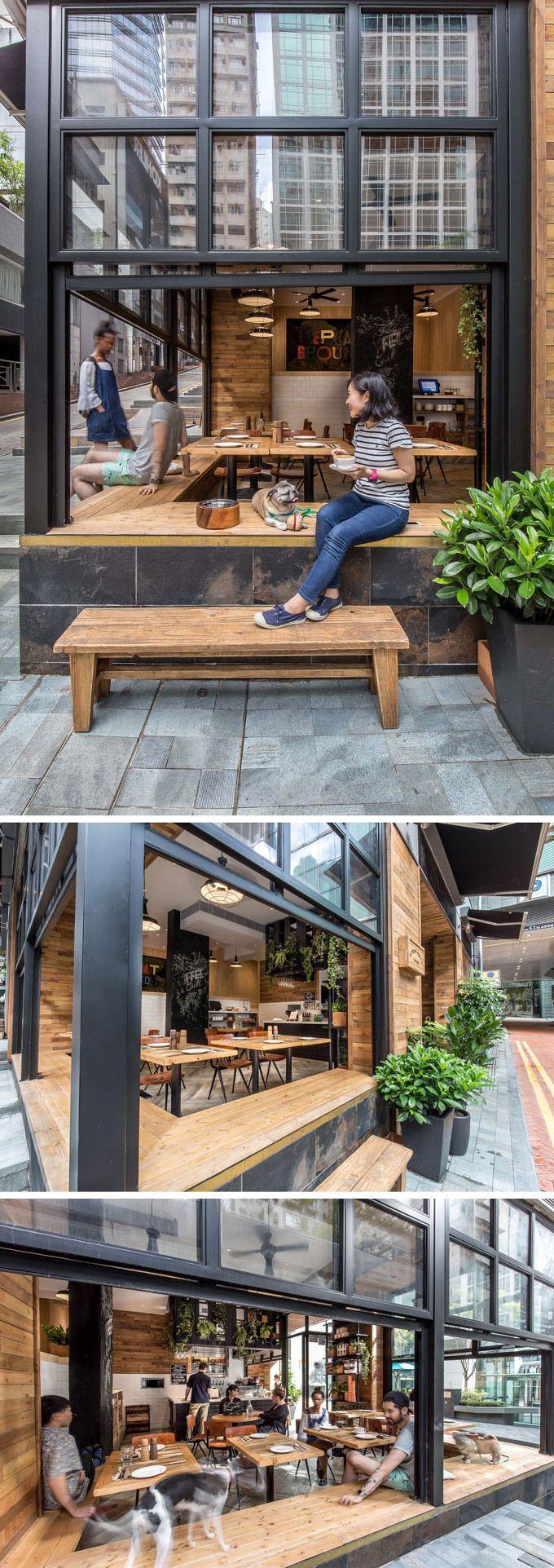 *홍콩 스트리트 카페, 엘리펀트 그라운드 [ JJA/Bespoke Architecture ] Elephant Grounds :: 5osA: [오사]
