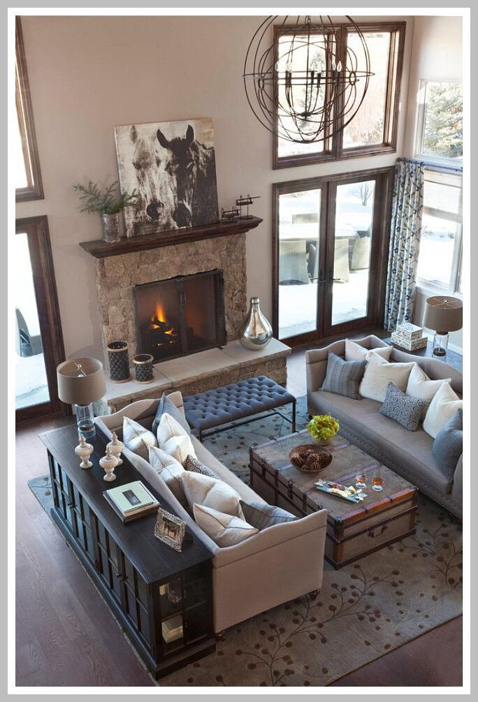 Family Room Ideas With Fireplace Furniture Placement Cozy Living Interior Design Livingroom Layout Furniture Placement Living Room Living Room Furniture Layout