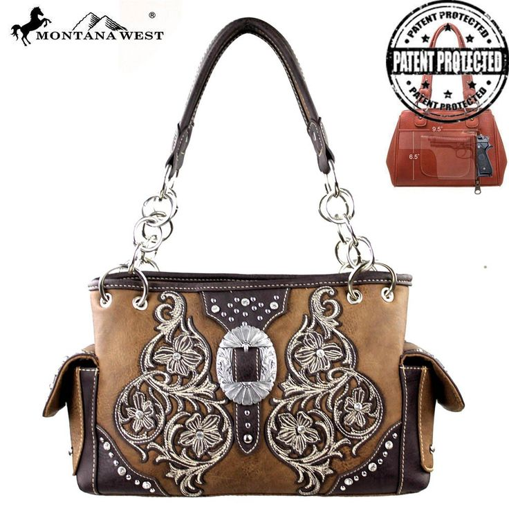 Western Bling Concealed Carry Purse by Montana West