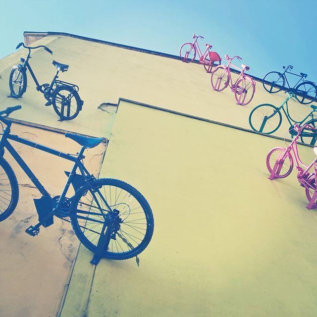 #cycling to the #sky #bicycles #shotonmylumia #shotonlumia #lumiaphotography #colors #fun #instafun #bici #bicicletta #cielo #colori #instacool #istamood #instagrammers #followme #likeme #monza #monza2016 #monzabrianza #monzacity
