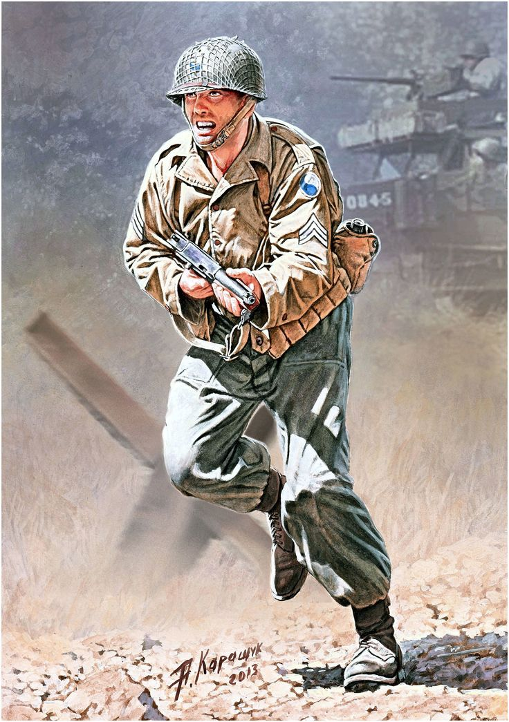 Soldier of 29th division