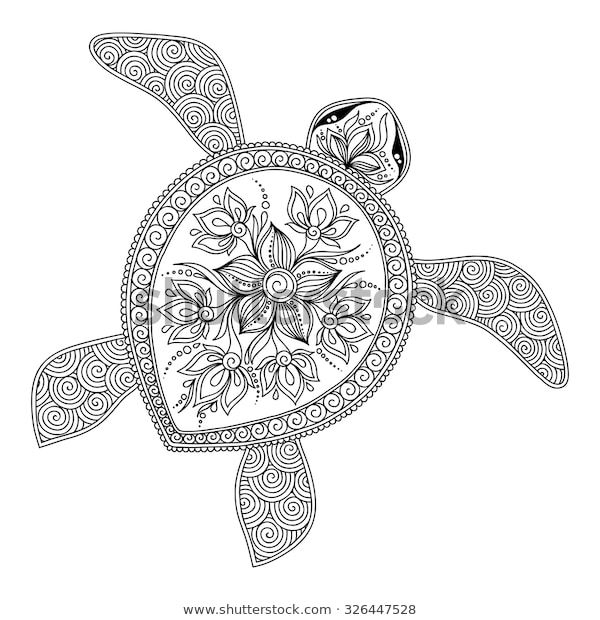 Find Pattern Coloring Book Coloring Book Pages Stock Images In Hd And Millions Of Other Royalty Free Stock Turtle Coloring Pages Coloring Pages Coloring Books