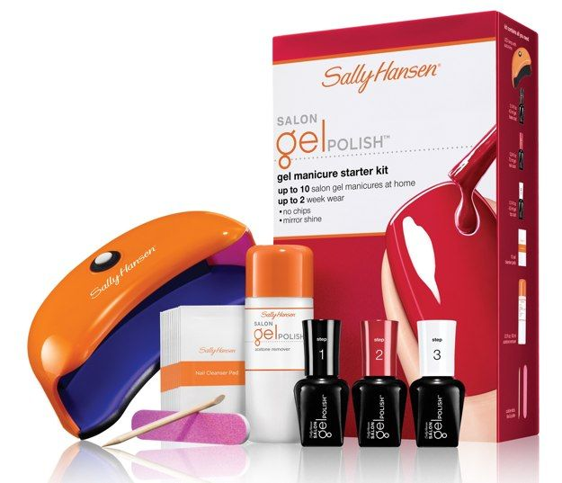 7 of the Best At-Home Gel Polish Kits- Sally Hansen