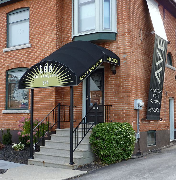 Salon Teo Hair and Body Works Awning