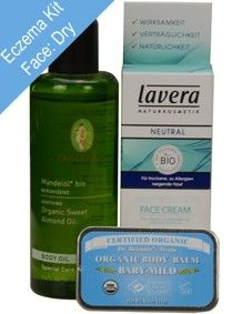 Eczema Rescue Kit for Face: for Dry / Mature skin types. Eczema Rescue Kit for Face comprises of 3 emergency must have Eczema products: All products included in this kit are unscented. These products should help you through the most irritating of facial eczema episodes. http://www.theremustbeabetterway.co.uk/eczema-rescue-kit-for-face-dry.html