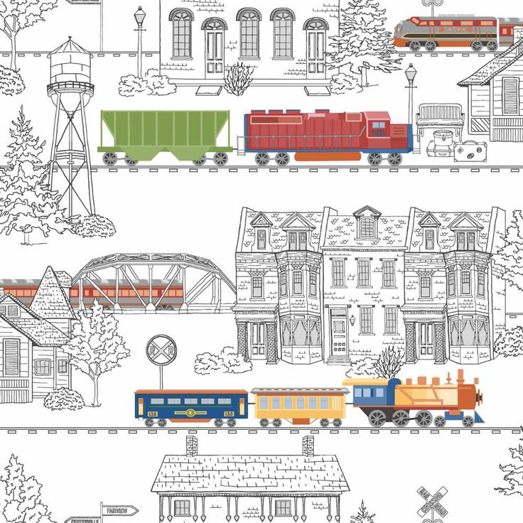 Growing Up Kids Tunnel Vision Removable Wallpaper York Wallcoverings Wallpaper Kids