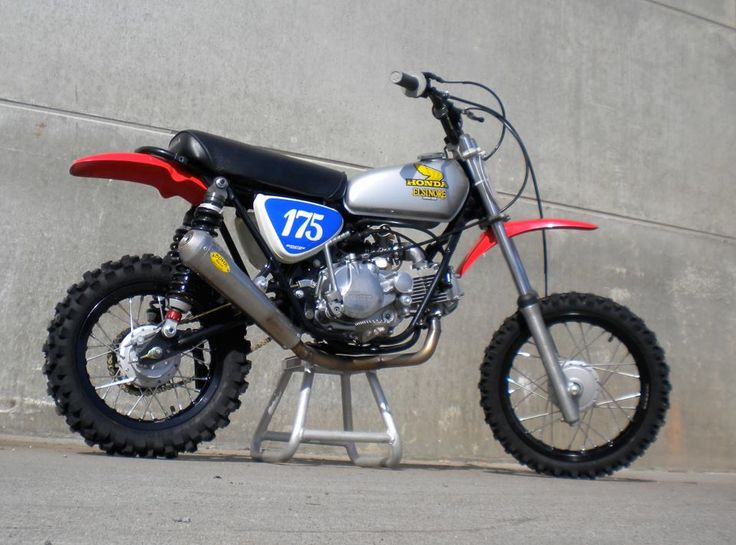 Honda Sl70 Modified Pit Bikes Pinterest Honda Scrambler And
